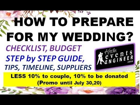 Promo is on this video on HOW TO PREPARE FOR MY...