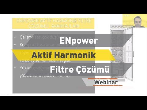 ENTES Webinar: ENpower Aktif Harmonik Filtre Çözümü