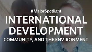 #MajorSpotlight on International Development, Community, and the Environment at Clark University