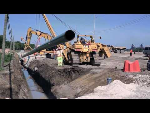 Gas Pipeline Installation