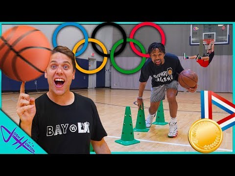 BASKETBALL OLYMPICS vs MARCELAS HOWARD!