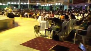 Revival meeting in Africa, 2012