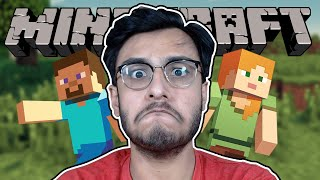 PLAYING MINECRAFT FOR THE VERY FIRST TIME EVER - PART 1 | RAWKNEE