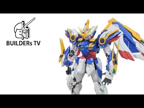 The Most Beautiful Gundam - RG WING GUNDAM EW Speed Build Review
