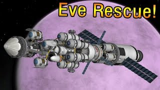 KSP: The fearless EVE rescue!