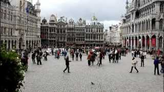 preview picture of video 'Brussels Streets and Attractions, Belgium'
