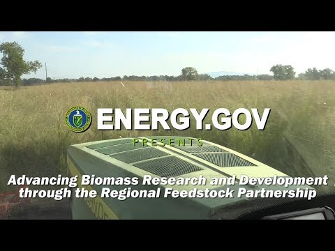 Advancing Biomass Research and Development through the Regional Feedstock Partnership