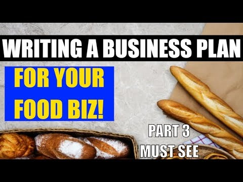 , title : 'How to make a business plan for your food business