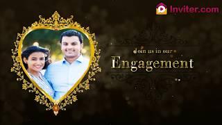 Engagement Video Invitation Template Online | Inviter.com