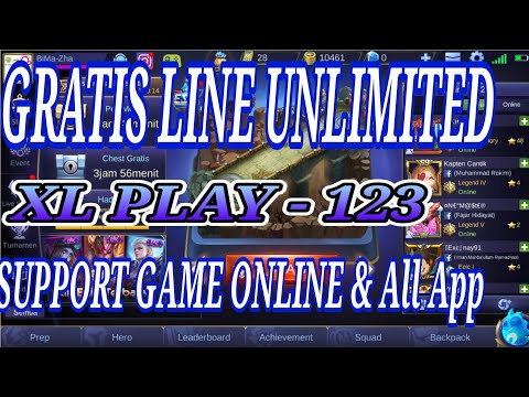 Config XL Line unlimited Http injector support game online
