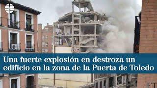 В Мадриде взорвался дом престарелых