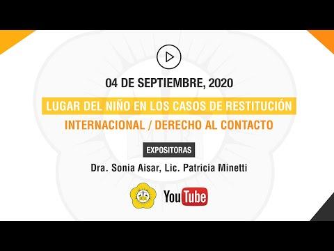 RESTITUCIÓN DERECHO AL CONTACTO - 04 de Septiembre 2020