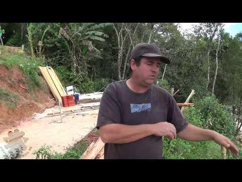 Motorista do caminhão que foi transportar os poucos pertences da Daniela do morro do Inchadão está sem acesso , Depois da Obra da Prefeitura