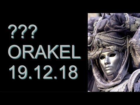 ??? ORAKEL: 19.12.2018 (Mittwoch) (видео)