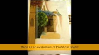 preview picture of video 'Jak powstaje obraz olejny ( how did the oil painting )'