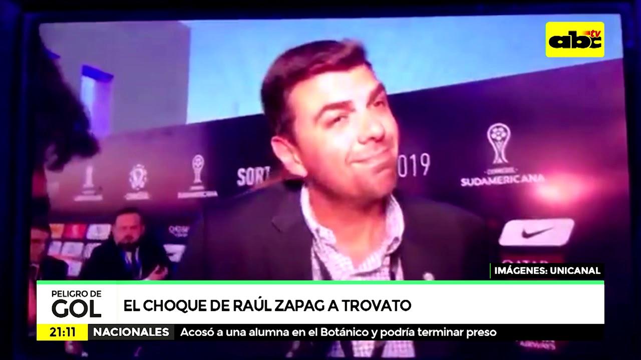 El choque de Raúl Zapag a Trovato