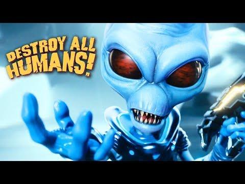 DESTROY ALL HUMANS XEON E5 2640 + GTX 970 ( Ultra Graphics ) ТЕСТ