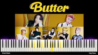 BTS (방탄소년단)_ Butter 버터 튜토리얼