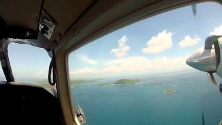 preview picture of video 'Flying to Culebra'