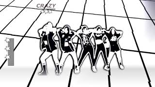 Just Dance Old School |CRAZY-4MINUTE|FANMADE