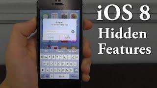 iOS 8 Hidden Features – Top 10 List
