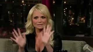 Kristin on Letterman (01/12/2007)