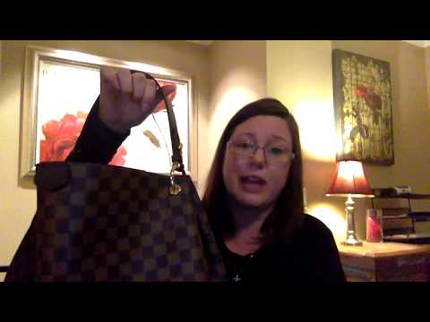 Louis Vuitton Graceful MM Review and Reveal & What fits in my bag and Neverfull GM & MM comparison