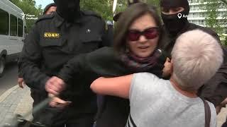 Десятки задержанных в Казахстане