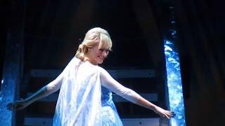 Frozen Song Let it Go – Live Show - Disneyland California Resort (HD)