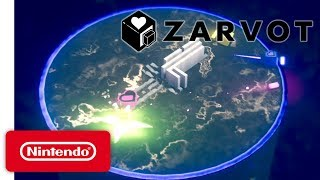 Zarvot - Launch Trailer - Nintendo Switch