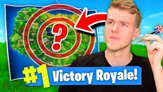 The LUCKY DARTBOARD Challenge! (Fortnite Battle Royale)