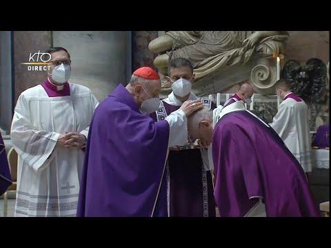 Messe du Mercredi des Cendres présidée par le pape François