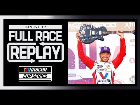 NASCAR Ally400(ナッシュビル・スピードウェイ) 決勝レースのハイライト無料動画