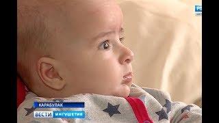 Муслим Дербичев, 4 месяца, деформация черепа, требуется лечение специальными шлемами