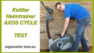 Kettler Heimtrainer Test Axos Cycle