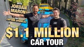 $1.1 MILLION CAR TOUR W/ JORDAN MARON AKA CAPTAIN SPARKLEZ   JOSH ALTMAN   REAL ESTATE   EPISODE #43