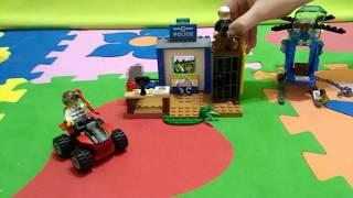 Собираем новый LEGO JUNIORS! Мультяшка Глеб играет в новый конструктор!