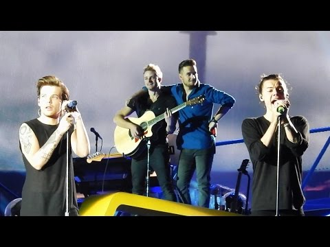 You & I - One Direction - Wien, Vienna, Austria  - OTRA - 10/06/2015 - LARRY focused (видео)