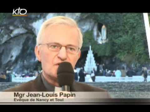 Mgr Jean-Louis Papin - Diocèse de Nancy et Toul