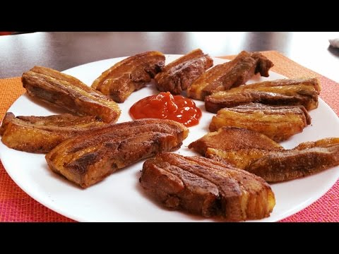 Fried Liempo Recipe!