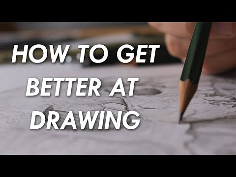 How to get BETTER at DRAWING! - 6 things you NEED to know.