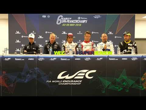 TOTAL 6 Hours of Spa-Francorchamps - Pre Event Press Conference