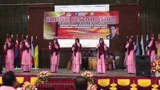 KETIGA Nasyid SBT Kebangsaan 2014   SMKA Sharifah Rodziah (Wardatuddiniah)