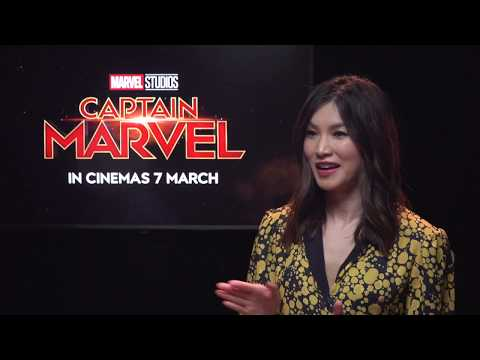 Sands Profile: Captain Marvel's Brie Larson Sands & Gemma Chan