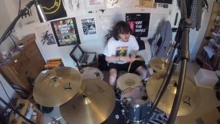 The Exploited - Dead Cities (Drum Cover)