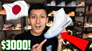 JAPAN'S MOST EXPENSIVE OFF-WHITE SNEAKER and BEST SUPREME STORE!