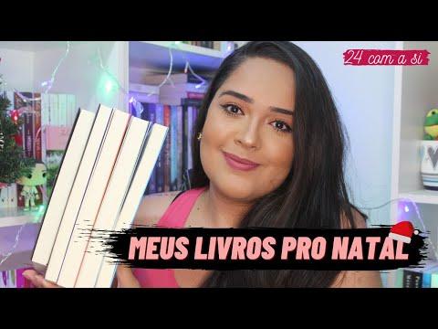 MINHA TBR PRA SEMANA DO NATAL | 24 com a Si 🎈📚