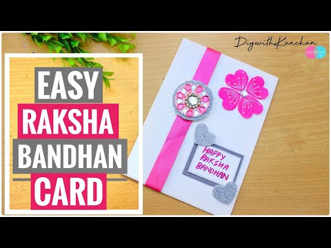 Easy Rakhi card making