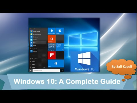 A Comprehensive Tutorial on Windows 10 - YouTube