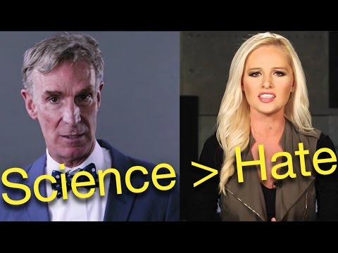Tomi Lahren Picks A Fight With Bill Nye